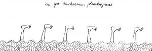 Čia yra sinchroninis plaukiojimas