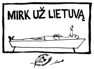 Mirk už Lietuvą