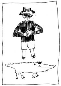 Valstietis ir krokodilas