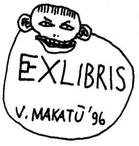 Exlibris V.Makatų '96