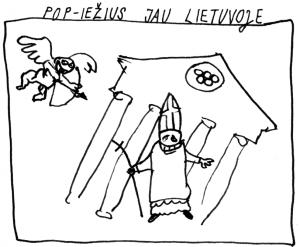 Pop-iežius jau Lietuvoje