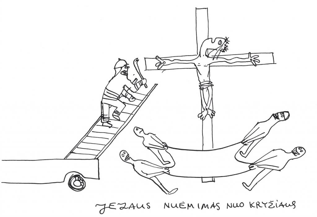 Jezaus nuėmimas nuo kryžiaus