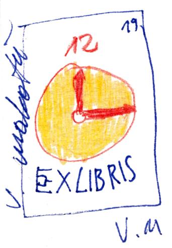 V. Makatu exlibris